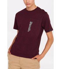 bench urbanwear 2-tone pocket short sleeve tee