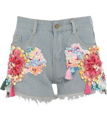 amuse denim shorts