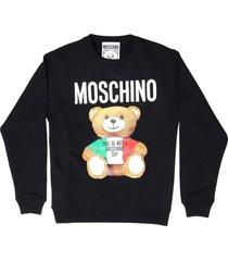moschino felpa italian teddy bear