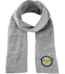sciarpa con logo wonder woman (grigio) - bpc bonprix collection