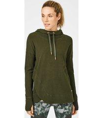 escape luxe fleece hoodie