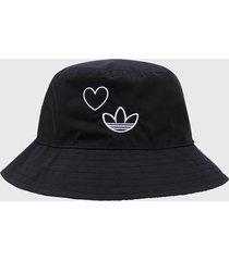 gorra negro-blanco adidas originals pescador