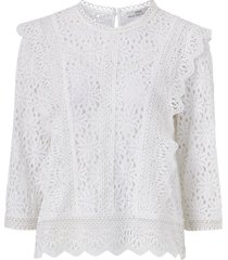 spetsblus lacey blouse