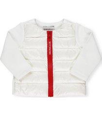 moncler padded sweatshirt