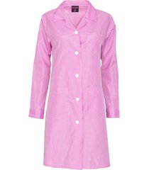 delantal cuadrille rosa kotting