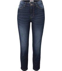 jeans elasticizzati morbidi cropped slim (blu) - john baner jeanswear
