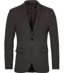 blazers knitted blazer colbert grijs esprit casual