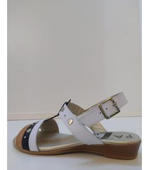 sandalia de cuero suela pazos shoes juana