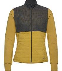 lumen subzero jkt m sweat-shirts & hoodies fleeces & midlayers geel craft