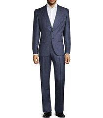 colombo regular-fit johnston/lenon virgin wool & silk suit