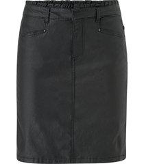 kjol vmmanu coated ruffle skirt