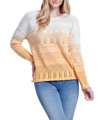 seven7 dip dye sweater