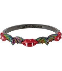 betsey johnson bat bangle bracelet