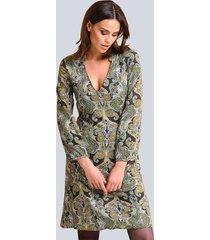 jurk alba moda marine::groen