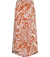 gaia lång kjol orange dagmar