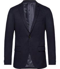nos pique and constructed blazer blazer kavaj blå scotch & soda