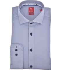 pure heren overhemd all-over print red label cutaway slim fit