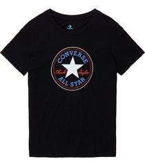 converse camiseta chuck taylor patch nova black