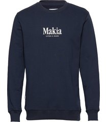 strait sweatshirt sweat-shirt trui blauw makia