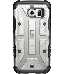 estuche carcasa urban armor gear uag para samsung galaxy s6 - transparente