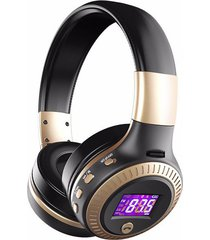 audifonos bluetooth estéreo zealot b19 soporte micro-sd y fm