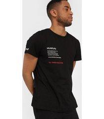 sixth june hvman t-shirt t-shirts & linnen black