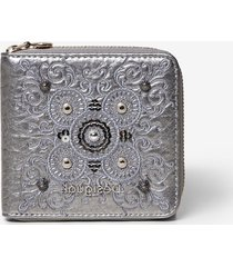 mini-coin wallet galactic mandalas - black - u