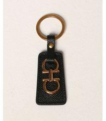 salvatore ferragamo key chain salvatore ferragamo gancini key ring in leather