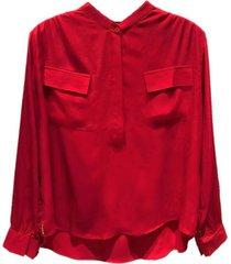camisa roja mistral bazan