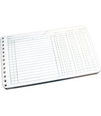 wilson jones ring ledger sheets, 5 x 8.5 inches, 24 pound paper, white, 100 shee
