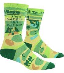 blue q golf guy socks