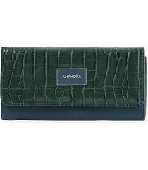 billetera verde amphora nikola