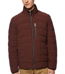 marc new york men's carlisle stretch packable moto jacket