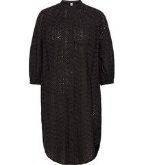 anglaise kaylin tunic dresses shirt dresses svart becksöndergaard