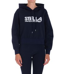 stella mccartney scuba logo hoodie