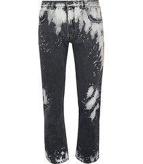 type 2813 beached straight jeans