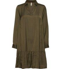 sc-pamela dresses everyday dresses grön soyaconcept