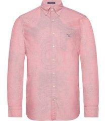 reg oxford bd skjorta casual rosa gant