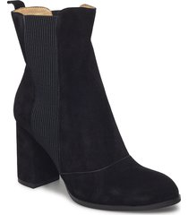 bich s shoes boots ankle boots ankle boots with heel svart shoe the bear
