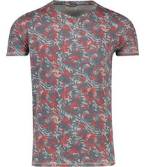 t-shirt dstrezzed ronde hals jungle dessin