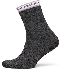 by malina socks lingerie socks regular socks grå by malina
