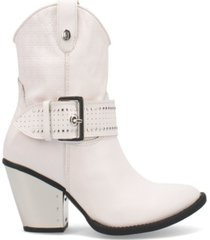 dingo women's backstage leather bootie women's shoes