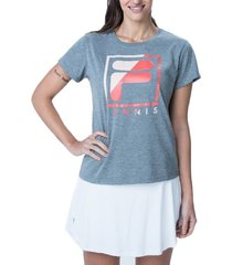 remera gris fila tenis break