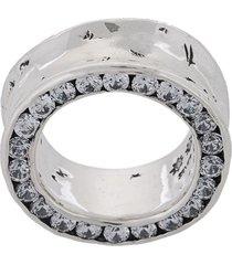e.m. chunky ring - metallic
