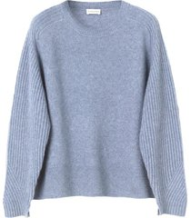 ana sweater in faded dove