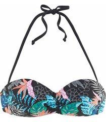 bikini lascana smash bandeau zwempak top