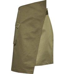 tistel knälång kjol grön holzweiler