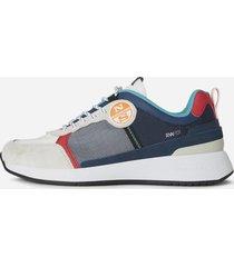 sneaker in nylon e microrete