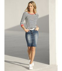 topp amy vermont marinblå::offwhite::korall