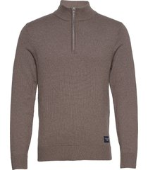 anf mens sweaters knitwear half zip jumpers abercrombie & fitch